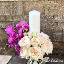 Lumanare nunta/botez NBL47