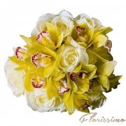 Buchet de flori mireasa NBM27