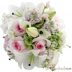 Buchet de flori mireasa NBM33