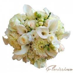 Buchet de flori mireasa NBM43